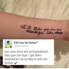 exo lyrics tumblr