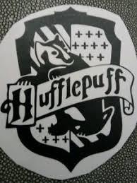 4 8 Hufflepuff Crest Vinyl Decal Sticker Car Window Laptop Potter Hogwarts