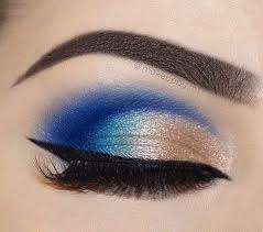 Pin by Priscilla Butler on макияж in 2020 | Makeup forever eyeliner,  Eyeshadow makeup, Blue eye makeup