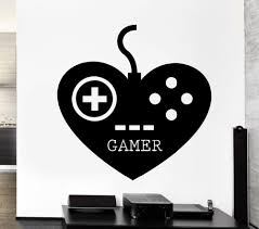 Gamer Gaming Play Room Video Games Kids Room Vinyl Decal Stickers Wallpaper For Boys Bedroom Decoration Vinyl Wall Art Decals Vinyl Wall Art Quotes From Onlybrand 4 91 Dhgate Com