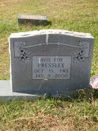 Avis Fox Pressley (1913-2000) - Find A Grave Memorial