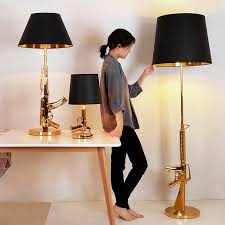 Modern Table Lamp Bedroom Bed Side Living Room Ak47 Gun Lamp Kids Room Loft Art Home Decor Night Stand Lamp Fixtures Table Lamps Aliexpress