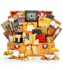 grand indulgence gourmet gift basket