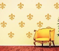 Fleur De Lis Vinyl Wall Decal Set Tweet Heart Home Design