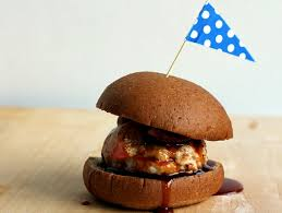 goat cheese stuffed turkey burgers with