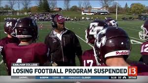 Earlham College suspends football program for 2019 | wthr.com