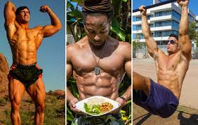seriously shredded vegan bodybuilders