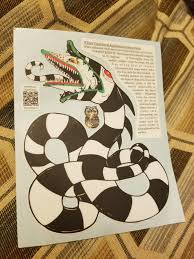 My Sandworm Vinyl Sticker Beetlejuice