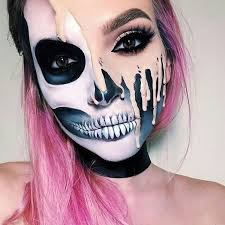 skull makeup on we heart it
