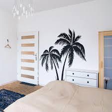 Large Palm Tree Wall Sticker Bedroom Nursery Summer Surfer Surfing Wave Ocean Beach Wall Decal Kids Room Vinyl Home Decor Wall Stickers Aliexpress