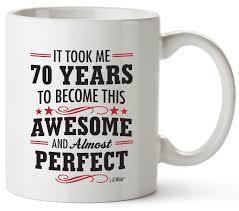 70th birthday gifts for women seventy