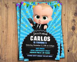 Jefe Bebe Imprimible Invitar Jefe Bebe Baby Boss Invitacion Etsy