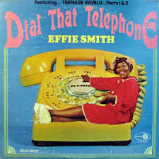 Effie Smith - Dial That Telephone (Jubiliee; 1966) Awesome cover on this  1966 comedy LP #records #vinyl #albums #LP | Copertina, Album