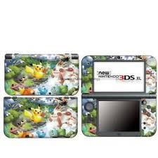 Pokemon Pikachu 7 Vinyl Decal Sticker Case Cover For Nintendo New 3ds Xl Ll Skin Ebay