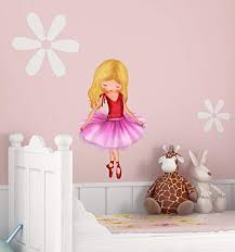 Ballerina Wall Decal For Girls Rooms Large Sticker Bedroo Https Www Amazon Com Dp B082wd5kt6 Ref Cm Sw R Pi D Girl Room Wall Decals Aurora Sleeping Beauty
