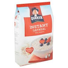 quaker instant oatmeal 1 2kg mydin