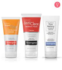 neutrogena face washes for clear skin