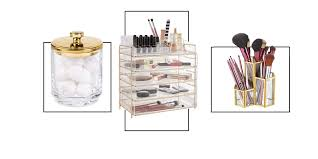 18 of best make up and skincare organisers