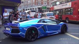 Qatar cars roam the streets of London!! - YouTube
