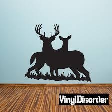 Family Deer Protective Decal Deer Wall Decal Vinyl Wall Decals Car Decals Vinyl