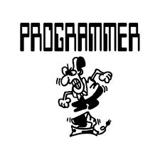 Programmer Computer Vinyl Sticker