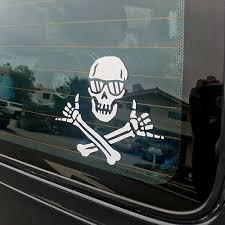 Shaka Pirate Decal Wheeland Brothers