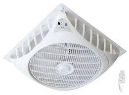 16 dc motor drop ceiling fan
