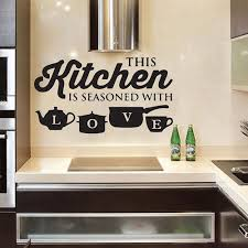 Removable Kitchen Wall Sticker Vinyl Decal Art Mural Kitchen Home Decor For Sale Online