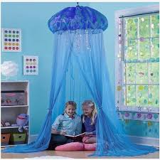 Kids Princess Canopy Bed Curtain Canopy Kids Room Decoration Jellyfish Mesh Baby Round Mosquito Net Tent Children Crib Netting Mosquito Net Aliexpress
