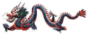 Graphic Vinyl Wall Decal Sticker Chinese Dragon Asian Wall Decals By Stickerbrand