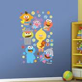 Sesame Street Wall Murals Stickers Sesame Wall Decals
