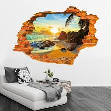 60 90cm Hot 3d Hole Famous Cartoon Wall Stickers For Kids Rooms Boys Gifts Through Wall Decals Home Decor Mural Wall Stickers Cheap Wall Stickers Children From Rita0615 3 52 Dhgate Com