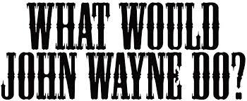Amazon Com What Would Wayne Do 8 Vinyl Sticker Car Decal 8 Black Automotive
