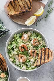 Lemon Herb Shrimp Caesar Salad with ...