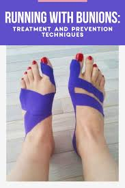 running with bunions treatment and