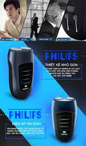 Máy cạo râu điện 2 lưỡi cao cấp Philips PQ190 - ONEMART.VN