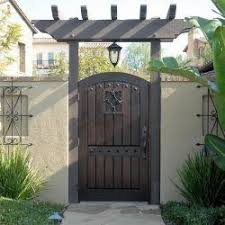 Old World Tuscan Wood Gate 210 House Gate Design Wood Gate Front Gate Design