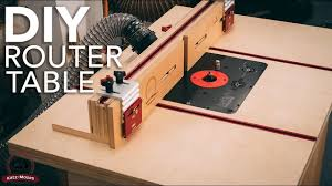 Diy Router Table Build Youtube