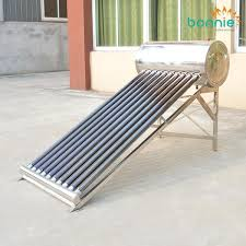 china homemade solar water heater
