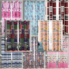 Kids Multi Color Striped Window Curtains Drapes For Sale Ebay