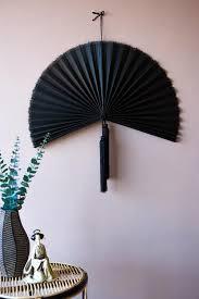 beautiful bamboo fan wall hanging