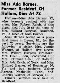 Obituary for Ada Barnes (Aged 72) - Newspapers.com