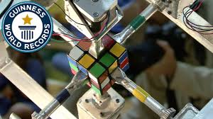 american student solves a rubik s cube