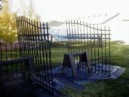 Raven Manor Projects Cemetery Gate Fence