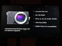sigma fp full frame l mount camera