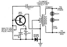 What Is An Electric Fence Energizer With A Circuit Diagram And How Does It Work Quora