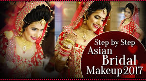 step by step asian bridal makeup