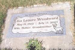 Iva Lenore Gray Woodward (1902-2003) - Find A Grave Memorial