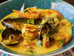 Curried Coconut-Seafood Soup (Seafood ...
