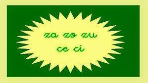 El blog de la maestra Berta: ZA-CE-CI-ZO-ZU | Letras, Lengua ...